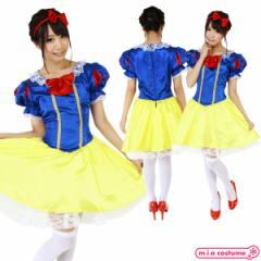 1123A■【送料無料・即納】 CO-CO第3弾 プリンセス 白雪姫衣装 サイズ:レディース