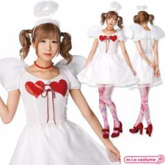 1140C■【送料無料・即納】 TorS ハートエンジェル サイズ:レディース ウィング付き天使衣装