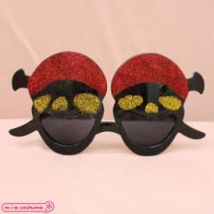 1305D■【送料無料・即納】 B品 海賊ドクロ仮面サングラス単品 色:黒×赤