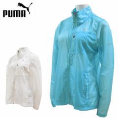 プーマ puma ランニングジャケット レディース 超軽量 極薄 360度リフレクト ライトジャケット ウーブンジャケット 516136【レターパック