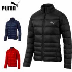 プーマ puma メンズダウンジャケット PWRWARM パッカブルLITEダウンジャケット 軽量 シンプル ワンポイント 853619M L LL XL