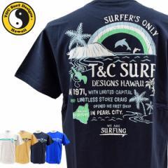 ティーアンドシーサーフデザイン t&c surf designs タウン&カントリー タウカン Tシャツ メンズ 半袖 綿 DM2142【メール便も対応】