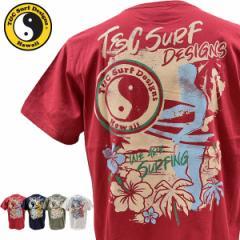 ティーアンドシーサーフデザイン t&c surf designs タウン&カントリー タウカン Tシャツ メンズ 半袖 DM2234 メール便も対応