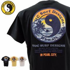 ティーアンドシーサーフデザイン t&c surf designs タウン&カントリー タウカン Tシャツ メンズ 半袖 DM2254 メール便も対応 TCD