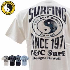 ティーアンドシーサーフデザイン t&c surf designs タウン&カントリー タウカン Tシャツ メンズ 半袖 DM2255 メール便も対応