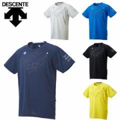 デサント descente ムーブスポーツ MOVESPORT 半袖Tシャツ メンズ トレーニング BRZ+ ハーフスリーブシャツ DMMLJA62【メール便も対応】
