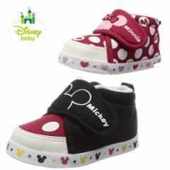 disney/ディズニー ベビーシューズ ファーストシューズ 女の子 男の子 軽量 よちよち歩き 子供靴 Daimatu DS0150  BOS