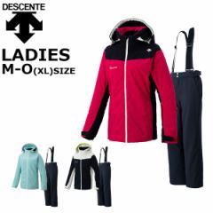 デサント レディース スキーウェア 上下セット M L O descente DWWOJH80
