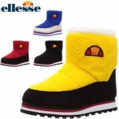 エレッセ ellesse レディース スノーブーツ スノーシューズ ショートブーツ Heritage Piemonte Boots Mid 冬靴 雪道対応 軽量 可愛いボア