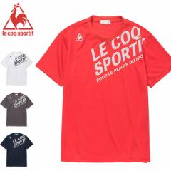 ルコック le coq メンズ 半袖 Tシャツ アウトレット 在庫一掃 QMMOJA02 メール便も対応
