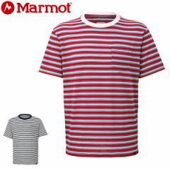マーモット marmot メンズ Tシャツ 半袖 TOMNJA53 メール便も対応