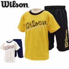 ウイルソン wilson Tシャツ ハーフパンツ 上下セット キッズ ジュニア WX5884 メール便も対応