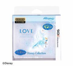 【3DS】ニンテンドー3DS/DSカード収納ケース カードポケット8 エルサ&オラフ【新品】