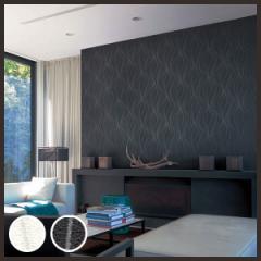 【 壁紙 のり付き 】 壁紙 のりつき クロス シンプル モダン 柄 パターン モノトーン リリカラ L