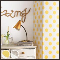 【 壁紙 のり付き DIY】 壁紙 のりつき クロス 幾何 水玉 ポップ 防かび 壁紙 サンゲツ