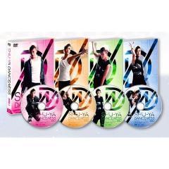 【正規品】 有名ダンサー/SHU-YA DANCENESS DVD4枚組(サポーター等は付属いたしません)