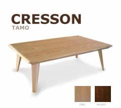 120cm×75cmタイプ 【クレソン】  暖卓機能付フロアテーブル お洒落こたつ リビングテーブル ローテーブル