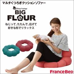 【スリープバンテージ フルール ビッグ】マルチくつろぎクッションソファー Francebed フランスベッド