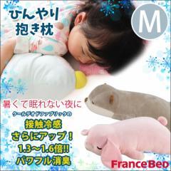 【Mサイズ】クールデオド キューちゃんN ロップちゃん ひんやり眠れる抱き枕 フランスベッド