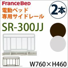 【SR-300JJ サイドレール】ハンドレール France Bed フランスベッド 福祉医療にも 手すり2本セット