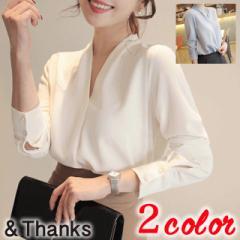 春コーデ スキッパーシャツ 1カラー5サイズ