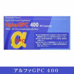 アルファGPC400 60カプセル (α ジーピーシー400 )α-GPC400(送料無料)
