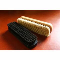 靴磨き ブラシ 艶出し 仕上 ワークブラシ 靴用ブラシ ツヤ出し、仕上げ用 シューケア 靴磨き