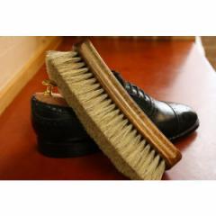 靴磨き ブラシ メガホースブラシ シューケア  【レビューを書いて次回使える送料無料クーポン