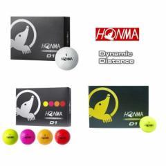 【即納】ホンマゴルフ HONMA D1 ゴルフボール 1ダース(12球入り) 日本正規品