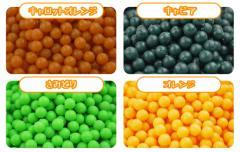 【選べるタイプ20色600個入り】水でくっつく不思議なビーズ マジカルボール 単色 セレクトカラ