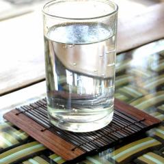 コースター おしゃれ アジアン 正方形 四角形 竹 カフェ 店舗 ホテル 旅館 バリ 雑貨