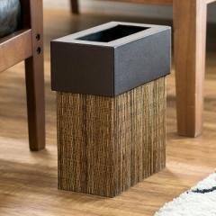 パームリディー製ポイントレザーのごみ箱 長方形 ダストボックス