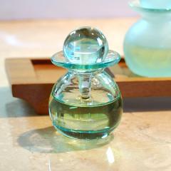 アジアン雑貨 バリ ガラス スパボトル クリアS [66313] クリアガラス アロマ オイルボトル 癒し おしゃれ リゾート ガラス瓶 アジア雑貨