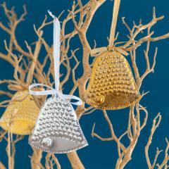 オーナメント クリスマス ベル ツリー 飾り グッズ ディスプレイ パーティ Christmas 演出 吊り下げ ゴールド