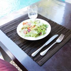 ランチョンマット アジアン おしゃれ テーブルウェア モダン 和 食卓 リゾート パームリディ バンブー 竹 バリ 雑貨