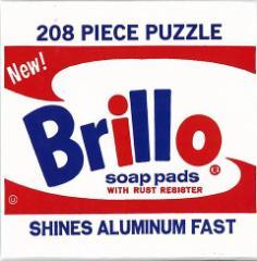 Brillo 208PIECE PUZZLE−Andy Warhol/バーゲンブック