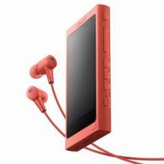 納期約7〜10日 SONY NW-A45HN-R ハイレゾ音源対応 ウォークマン Aシリーズ メモリータイプ ヘッドホン付属 16GB トワイライトレッド