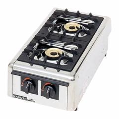 【送料無料】新品!マルゼン ガステーブルコンロ(2口) M-822DC