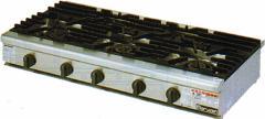 【送料無料】新品!マルゼン 卓上ガスコンロ(5口) RGC-1265C