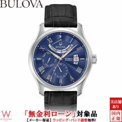 無金利ローン可 ブローバ 腕時計 メンズ BULOVA クラシック ウィルトン Classic Wilton 96C142 自動巻 機械式