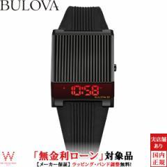 無金利ローン可 ブローバ 腕時計 メンズ BULOVA アーカイブシリーズ コンピュートロン 98C135 LED デジタル 時計