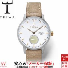 トリワ TRIWA グレイス スヴァラン SVST110-SW212612 革バンド ベージュ レディース 腕時計