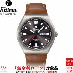 無金利ローン可 チュチマ TUTIMA エムツー コーストライン M2 COAST LINE 6150-03 メンズ 高級 腕時計 ブランド 自動巻 ブラック