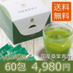 青汁 桑葉 茶匠庵 国産桑葉青汁 60包 送料無料 腸活 乳酸菌 酵素 明日葉 オリゴ糖 600億個の乳酸菌 ダイエット 糖質