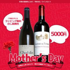 【送料無料】母の日 ワインセット 高級ブルゴーニュのシャブリ1級と高級ボルドーのサンテミリオン特級 赤白セット