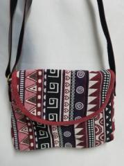 【ショルダーバック】モン族伝統刺繍使用 ショルダーバック