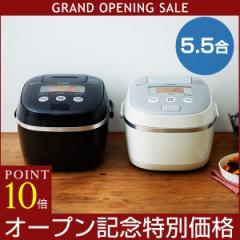 【オープニングセール実施中】 IH炊飯器 5.5合 タイガー JPE-A100 調理 早炊き 時短 土鍋コーティング 麦ごはん