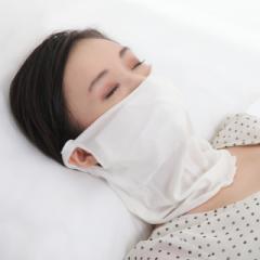 シルク100%マスク(ネックウォーマー)のど 潤い 保湿 大判