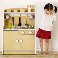 おままごと ままごと キッチン ままごとキッチン 木製 木のおもちゃ ままごとセット ごっこ遊び Mini Cook(ミニクック) 組立品 5色対応