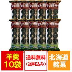 ようかん 送料無料 まりも羊羹 10個入 10袋 価格 6500円 北海道 阿寒湖 銘菓 まりもようかん